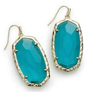 Kendra Scott Ella Drop Earrings in London Blue
